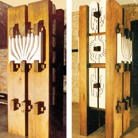 The Ten Commandments of God - Jewish Museum in Sarajevo, 1967